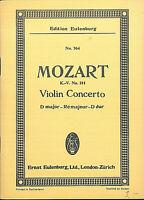 Mozart : Violin Concerto  D dur K.V. 211 ~ Taschenpartitur