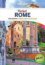 Lonely Planet Pocket Rome by Lonely Planet Paperback Book Free Shipping!
