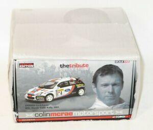 1/43 Colin McRae Tribute Collection  Ford Focus Valvoline Monte Carlo Rally 2001