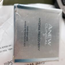 Avon Anew Clinical Hydra Recovery Overnight Mask with Hyaluronic Acid  50ml &fg