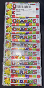 Charms Assorted Hard Candy Squares - 20 Pack Lot