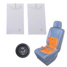 2 Sets Universal Auto Sitzheizung Heizmatten Carbon KFZ PKW 2 Stufe Schalter