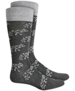 MSRP $10 Alfani Men's Wolf Socks Size One Size