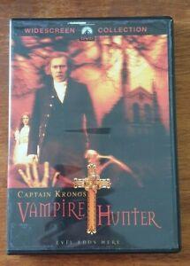 Captain Kronos Vampire Hunter DVD FREEPOST
