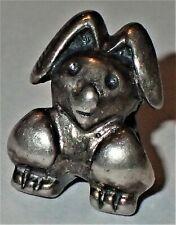 925 Silver Rabbit Bead ADD ON EUROPEAN STYLE & PANDORA BRACELETS 2.58 Grams