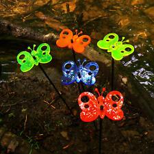 SunCatcher Set of 5: Butterfly | 50cm high colourful glowing garden decoration