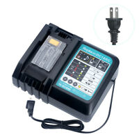 New Battery Charger DC18RC for Makita 14.4V-18V LXT Lithium-ion Battery BL1850B