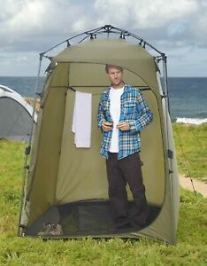 Lightspeed Outdoors Xtra Wide Quick Set Up Privacy Tent Toilet Camp Shower Po...