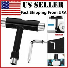 All In One T Tool Wrench Multi Skateboard with Small L Spanner Roller Skate US