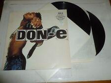 "DON-E - Unbreakable - 1992 UK 12-track 12"" Double Vinyl Single"