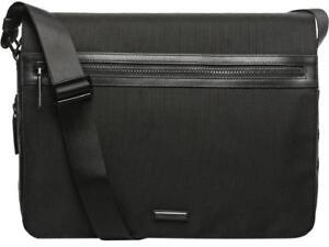 Michael Kors Parker Large Nylon & Leather Trim Messenger Bag NWT