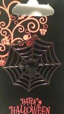 Disney Halloween Mickey Mouse Icon Spiderweb Trick or Treat Pin NEW CUTE