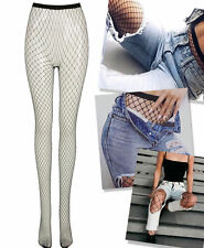 New Ladies Fishnet Sexy Stockings Large Mesh Fishnet Stockings Tights Size 8-14