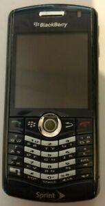 READ BEFORE U BUY BlackBerry Pearl 8130 Blue (Sprint) Cell Phone Very Good Used