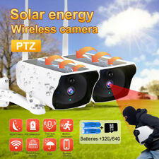 1080P Solar WIFI IP Camera Wireless Outdoor Security Camera Night Vision CCTV