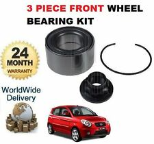 FOR KIA PICANTO 1.0 12V 1.2 2011--> NEW 3 PIECE FRONT WHEEL BEARING KIT COMPLETE