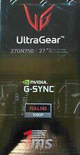 "LG 27GN750-B 27"" UltraGear FHD IPS 1ms 240Hz HDR 10 Gaming Monitor - Open Box"