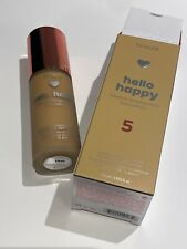 Benefit Hello Happy Flawless Brightening Foundation #5 BNWB Authentic