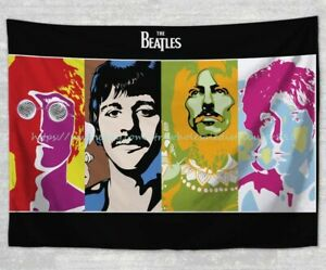 wall hanging  Beatles tapestry cloth poster modern blanket mat wall decor