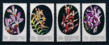 [61896] Singapore 1976 Flora Flowers Blumen Orchids MNH
