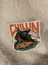 Summer Surfing Sticker Death