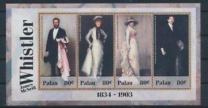 LO41231 Palau Whistler art paintings good sheet MNH