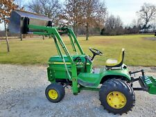 John Deere 400 Garden Tractor with John Deere Model 20 Front End Loader