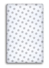 Baby Cot Sheet 140x70 120x60 90x40 100 Cotton Fitted Printed Colourful Nursery 90 X 40 Cm White