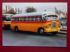 PHOTO  MALTA BUS AEC  REG DBY 398 AT SLIEMA