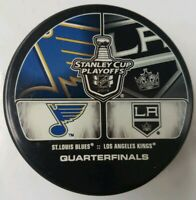 2013 STANLEY CUP ST. LOUIS BLUES VS LA KINGS NHL HOCKEY PUCK INGLASCO SLOVAKIA