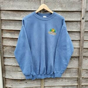 Vintage Rumrunners Cape Harbor Small Logo Embroidered Sweatshirt From USA