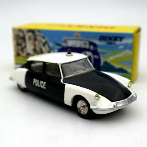 Atlas 1/43 Dinky Toys 501 Citroen DS 19 Police Car Model Diecast Collection Gift