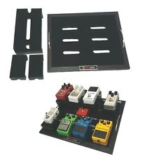 Hellion3731 Guitar Effects Pedalboard+2 Pedal Risers+1 Universal Pedal Stacking/