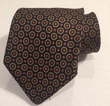 Gap Silk Neck Tie Navy Blue Burgundy Maroon Dots Necktie NWOT