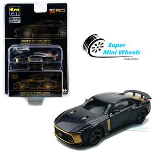 ERA Car 1:64 - Nissan GT-R50 By Italdesign (Liquid Grey & Gold)
