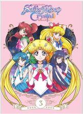 Sailor Moon Crystal: Season 3 Set 1 [New DVD] Black, 2 Pack