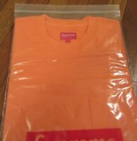 3cafff7d87432 Supreme S S Pocket Tee T-Shirt Size Large Coral FW18KN49 FW18 2018 Brand