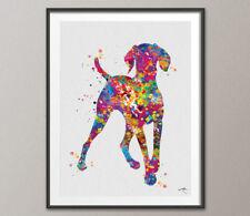 Hungarian Vizsla Dog Watercolor Print Dog Print Animal Dog Poster Vizsla Dog Art