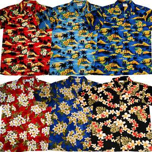 Hawaii Hemd M - 6XL Hawaiihemd Hawaihemd Hawaiishirt Strand Blüten Hawaiihemden