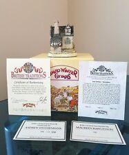 British Traditions David Winter Guy Fawkes 1984 w/ Original Box & Coa