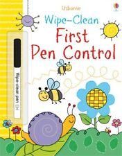 USBORNE WIPE-CLEAN FIRST PEN CONTROL