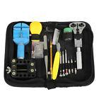 Portable 144Pcs Watch Watchmaker Repair Tools Kit Case Opener Remover Bar Set