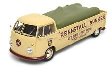 Schuco VW Bulli T1 pick up race transporter Bunker 1/18 Scale. New!