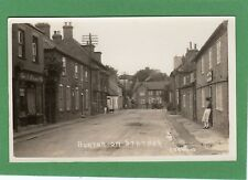 Burton on upon Stather Nr Scunthorpe Post Office RP pc unused Wood Ref F779
