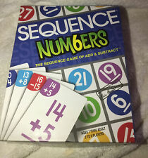 Sequence Num6ers Numbers Board Game by JAX