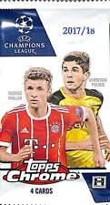 2017/18 Topps Chrome UEFA Champions League Hobby Pack