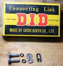 Daido DID #428 VC O-Ring Clip Type Master / Connecting Roller Chain Link