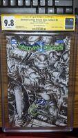 Batman Teenage Mutant Ninja Turtles II #5 SKETCH CGC SS 9.8 signed Williams TMNT