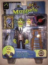 Muppets JOHNNY FIAMA ** BURGANDY JACKET ** Palisades toys SERIES SEVEN