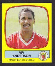 Panini - Football 88 - # 138 Viv Anderson - Manchester United